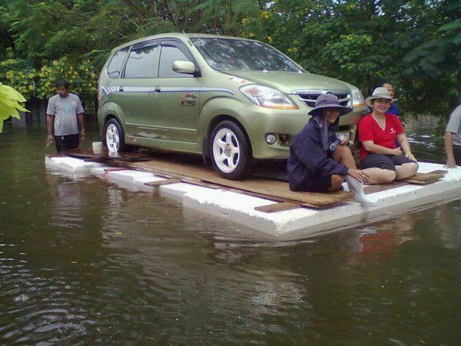 กันน้ำเข้ารถ