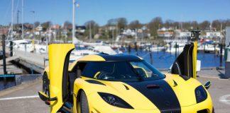 รถยนต์ที่เร็วที่สุดในโลก Koenigsegg Agera RS