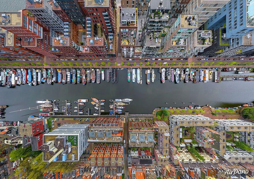 ภาพถ่ายมุมสูง ประเทศเนเธอร์แลนด์