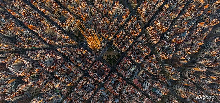 ภาพถ่ายมุมสูง ประเทศสเปน