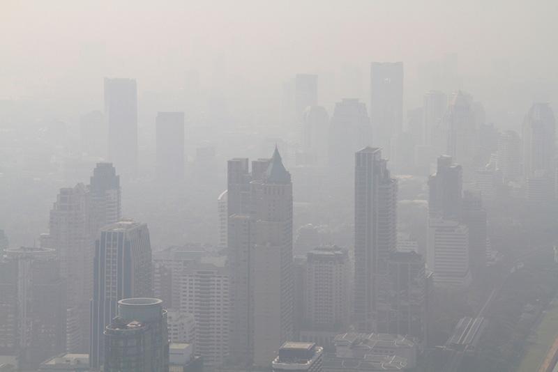 PM 2.5 ฝุ่นละอองในอากาศ