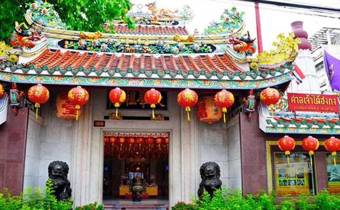 สถานที่ไหว้พระตรุษจีน