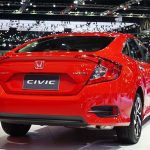 Honda Civic Hatchback Red 2018
