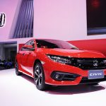 Civic hatchback Red 2018