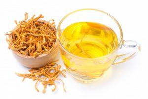ใบชาจีนแห้ง