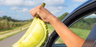 ดับกลิ่นทุเรียนในรถ