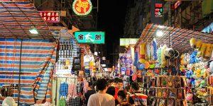 Ladies Market ย่านมงก๊ก (Mong kok)