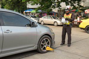 อายัดทะเบียนรถ ถ้าไม่จ่ายค่าปรับใบสั่ง