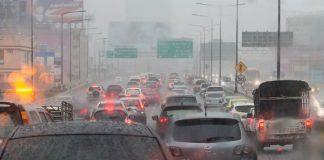 ฝนตก ต่อเนื่องทั่วไทย ถึง 12 พ.ค. 61