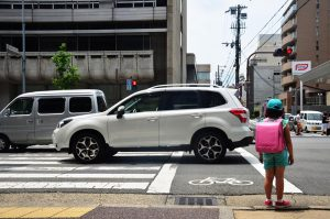 หยุดรถทับทางม้าลาย