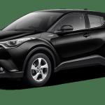 TOYOTA-CHR-2018-Black