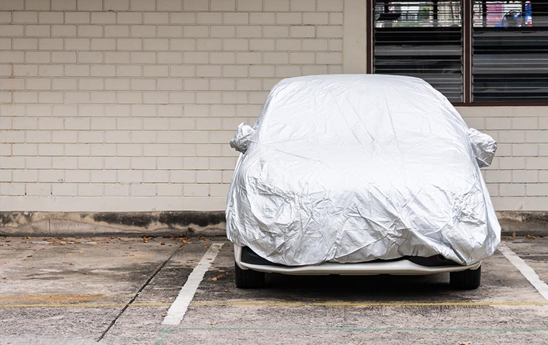 ผ้าคลุมรถ กันแดดได้จริงหรือ