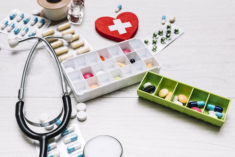 เตรียมยาสำหรับเดินทาง