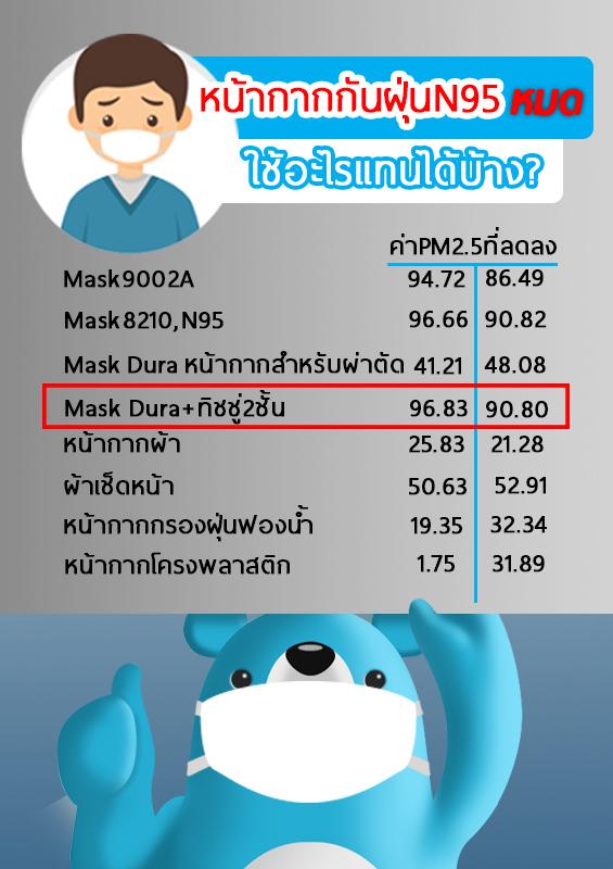 หน้ากากกันฝุ่น N95