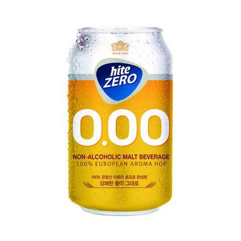 เบียร์ Hite Zero non-alcholic