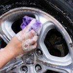 ล้างรถตอนจานเบรคร้อน