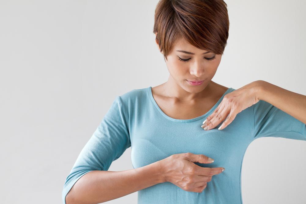 วิธีตรวจมะเร็งเต้านมด้วยตนเอง