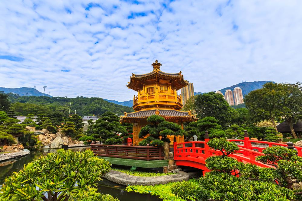 สำนักชีฉีหลินและสวนหนานเหลียน (Chi Lin Nunnery and Nan Lian Garden)