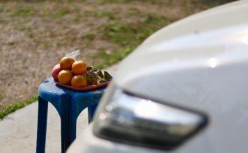 ผลไม้มงคล ที่ใช้ในการไหว้แม่ย่านางรถในเทศกาลตรุษจีน